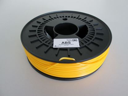 Picture of ABS plastic 750g 3mm - yellow