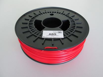 Picture of ABS Kunststof 750g 3mm - rood
