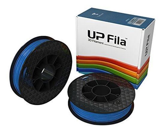 Picture of UP Fila PLA Plastic Filament, Blauw 2 x 500 g Rol (2 stuks)